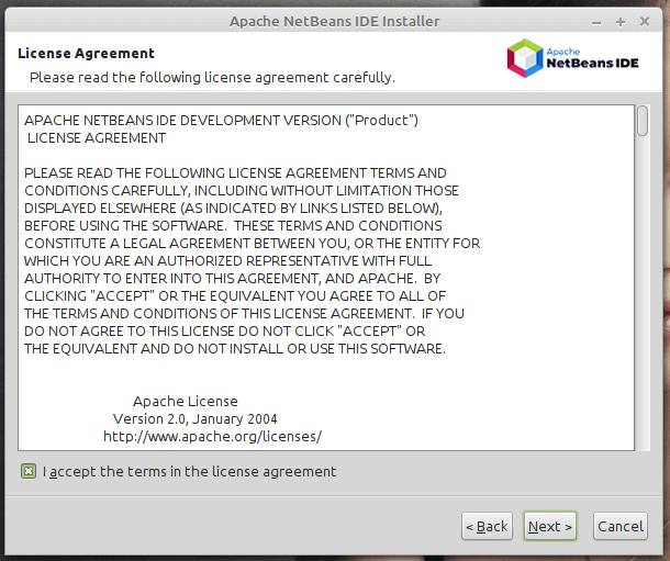 licencia de netbeans